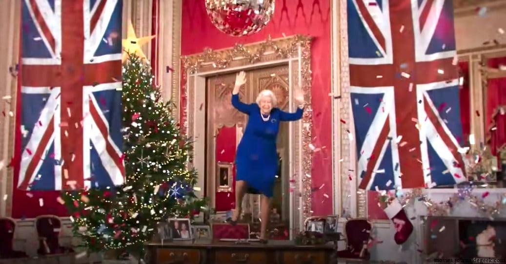 Regardez la reine Deepfake exécuter la danse TikTok lors du message annuel